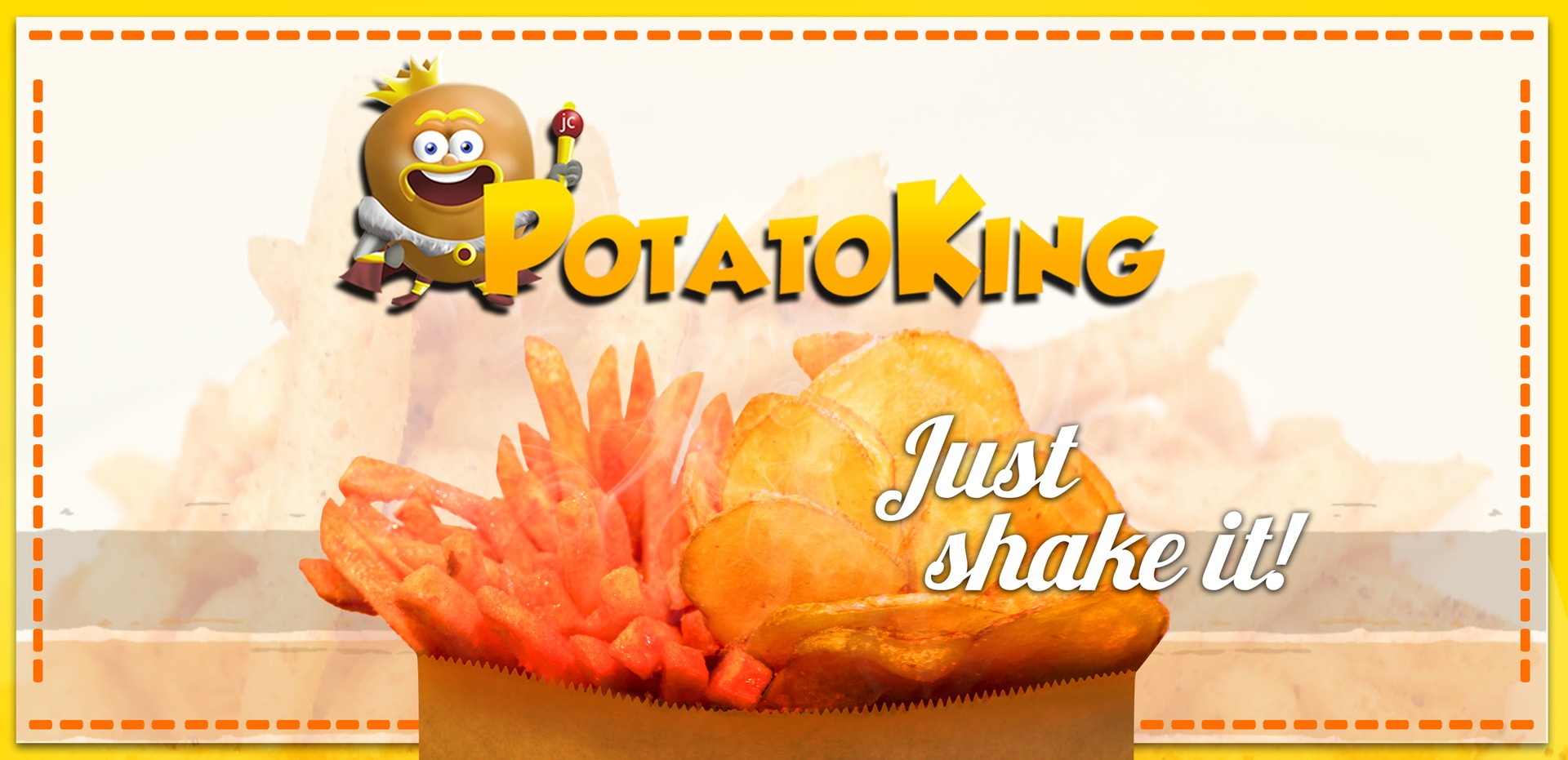 Potato King Banner